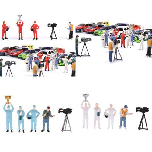 1:64 Rennfahrer Spielfigur Menschen Figuren Szenario-Set