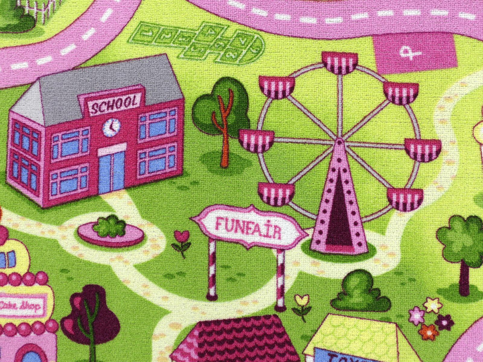 Sweet Town HEVO ® Kinderteppich   Spielteppich 200x280 200x280 200x280 cm 100% Polyamid | Auktion  09f05f
