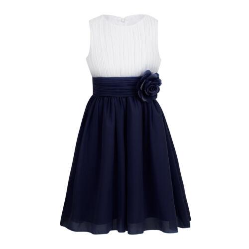 Toddler Kid Flower Girl Dress Party Princess Wedding Birthday Pageant Prom Dress