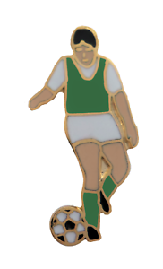Hibs Football Player Pin Badge - LAST FEW