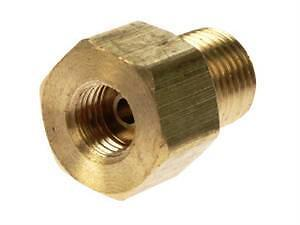 Brake Line Adapter For Master Cylinder 9 16 18 Male X 7 16
