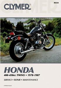 clymer repair service shop manual vintage honda cb400 cm400 cb450 rh ebay co uk Honda CB200 2017 Honda CB400