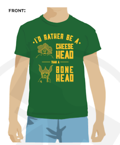 3cd43a9d Image is loading Green-Bay-Packers-shirt-funny-Cheesehead