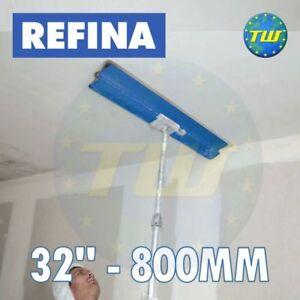 REFINA-32-034-80cm-Finishing-Spatula-800mm-with-Plastering-Skimming-Spat-Pole-1-2M