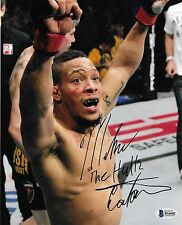 Mike Easton Signed UFC 8x10 Photo BAS Beckett COA 148 FX Fight Picture Autograph