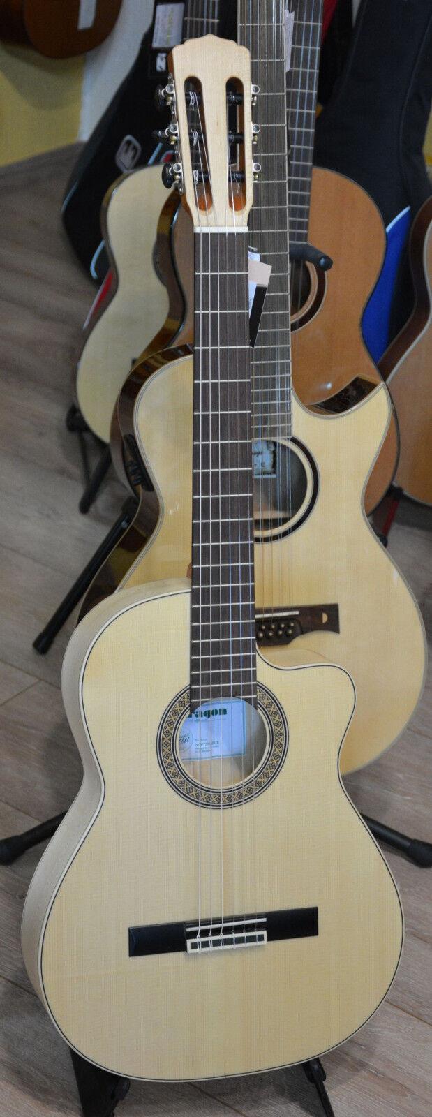 ARAGON Pro Tierra AT-PT250AECE Vollmassive Konzertgitarre Slim Body AUSSTELL.NEU