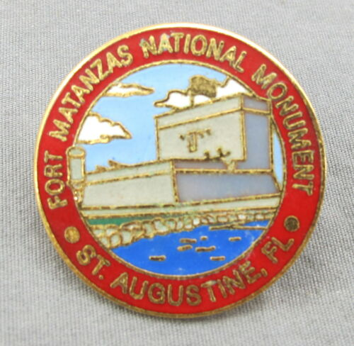 Fort Matanzas National Monument - Saint Augustine Florida Souvenir Travel Pin