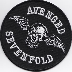 AVENGED-SEVENFOLD-IRON-or-SEW-ON-PATCH