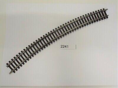 Märklin 2241 K-Gleis gebogen Länge 1//1 = 30° H0 Fabrikneu