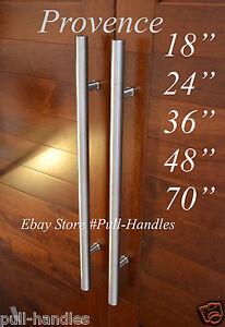 Stainless Steel T Bar Modern Long Pull Handle Door Handles