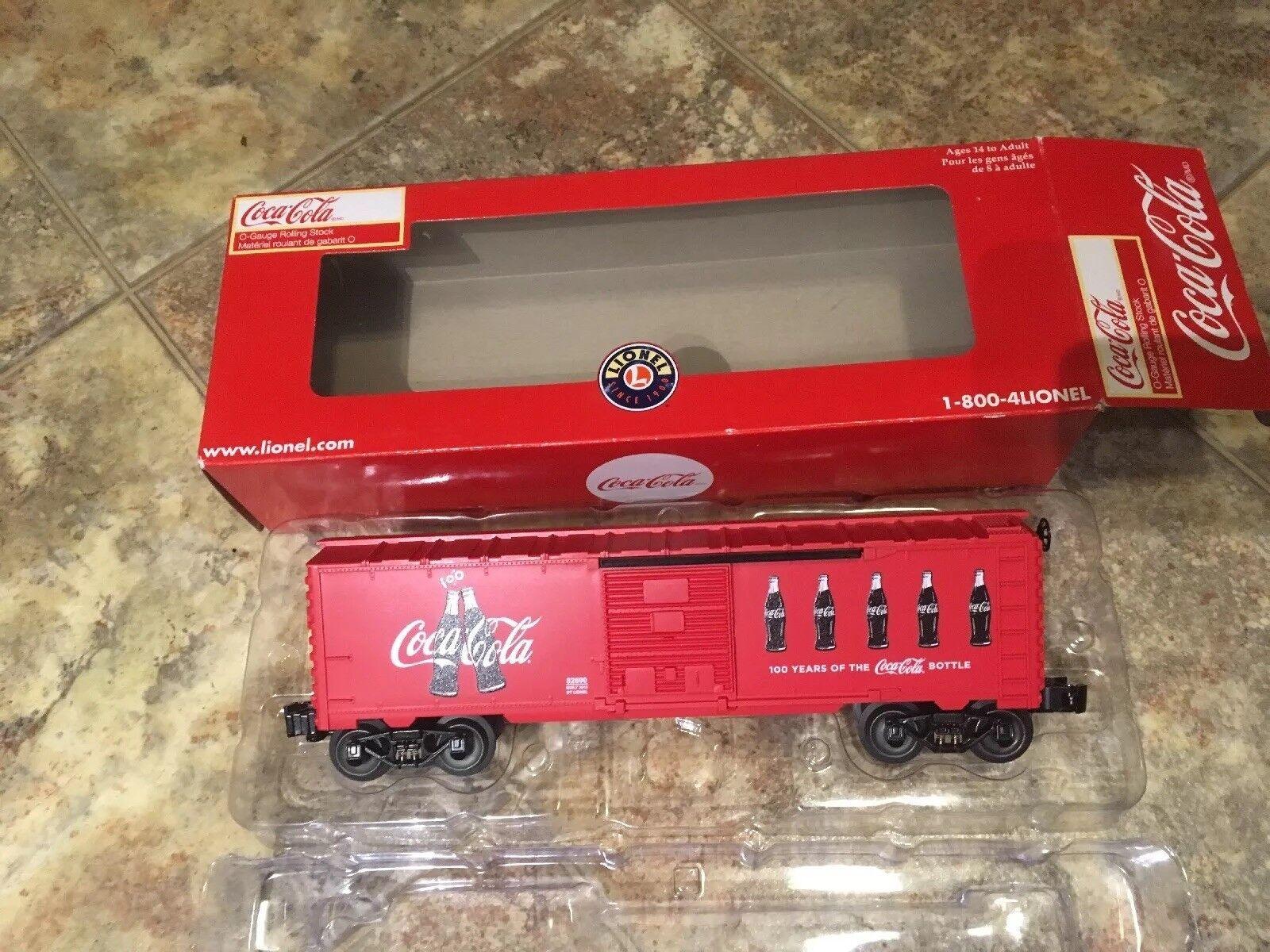 Lionel 6-82690 Aniversario De Coca Cola Botella Caja Auto o calibre Hecho en EE. UU.