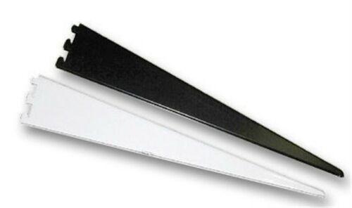"""Kv Heavy Duty Shelf Bracket Decorative 10 1//2/"""" Black PartNo 182BP BLK 10.5"""