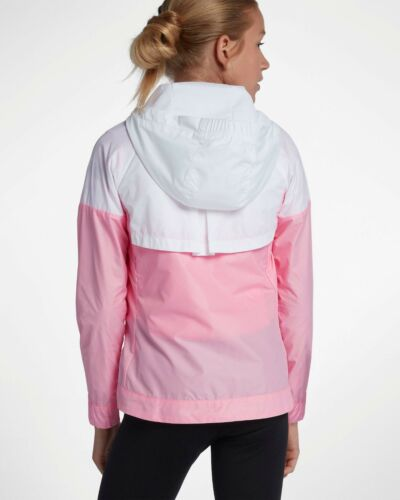 2 of 8 Nike Big Kids Sportswear Windrunner Jacket Pink 45a3527ae52