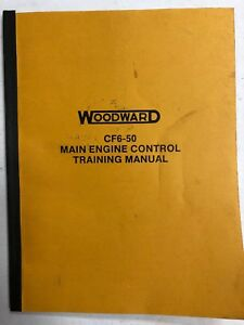 Details about Woodward CF6-50 Main Engine Control Training Manual-Original