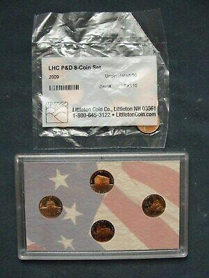 Mint No Box No COA 2009 Bicentennial Proof Penny Set Lincoln 4 Penny  U.S