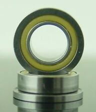 "3//16 x 5//16 x 1//8/"" FLANGED PolyAmide Sealed Bearing  FR156LL"