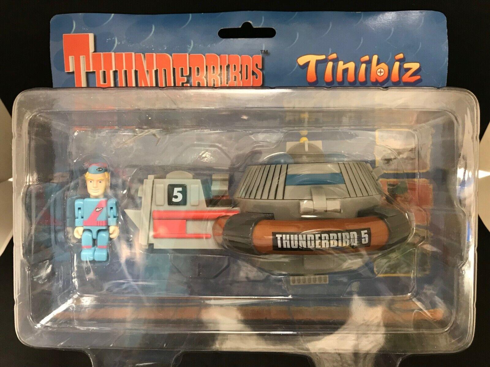 THUNDERBIRD TINIBIZ PLAYSET N° 5