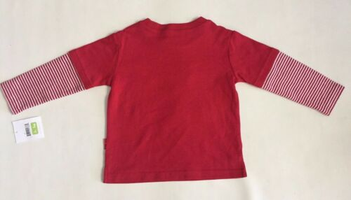 NWT Le Top Baby Boys Cotton Shirt Holiday Christmas Reindeer Sz12,24 Month