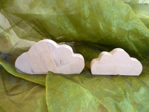 Wolke aus Buchenholz o Sperrholz Dekoration Vorlage Himmel Wolken