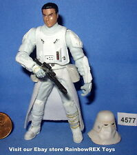 Star Wars 2010 SNOWTROOPER From Attack on Hoth 3.75 inch Figure COMPLETE