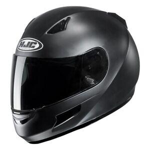 HJC-Helm-CL-SP-Semi-flat-schwarz-matt-Gr-XXXL-65-66-extra-grosser-Motorradhelm