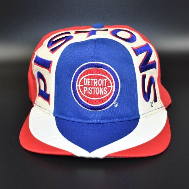 Detroit Pistons Vintage 90's NBA Twins Enterprise Adjustable Snapback Cap Hat