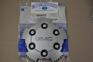 2004-2008-Gmc-Canyon-Plata-Centro-Tapa-W-Gmc-logotipo-Nuevo-Oem-9595899