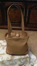 Coach NoB9C9305 Vintage Bleeker Bucket Tote Womens Brown Satchel Sz M Leather
