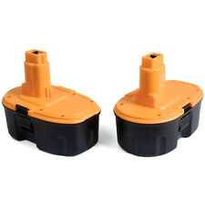 New 2-Pack For DEWALT DC9096-2 18-Volt XRP 3000mAh NiCad Pod-Style Battery US