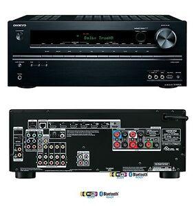 Onkyo TX-NR525 5.2 Home Cinema Theatre HD AV Receiver Network 7x ...