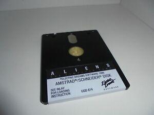 Jeu ALIENS - ELECTRIC DREAMS 1986 - disquette - Amstrad CPC 6128 -