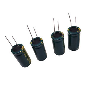 US-Stock-4pcs-Electrolytic-Capacitors-4700uF-4700mfd-50V-105-Radial-18-x-36mm