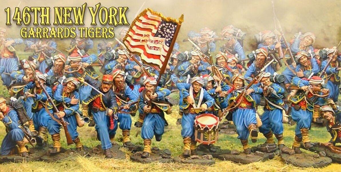 The Collectors ShowCase GUERRA CIVILE UNION 146TH Nuovo York garrard's TIGERS Set