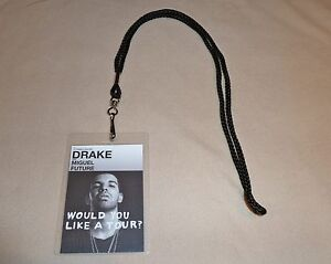 Details about drake would you like a tour vip all access backstage pass lanyard meet greet image is loading drake would you like a tour vip all m4hsunfo