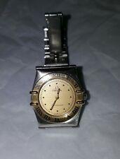 ladies Omega Constellation Swiss made steel gold quarts watch