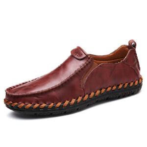 Summer-Men-Driving-Casual-Loafers-Boat-Shoes-PU-Leather-Slip-On-Driving-Moccasin