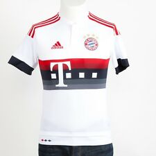 Adidas Kinder Fc Bayern München Auswärtstrikot Trikot Kinder 164 2015/16 Weiß