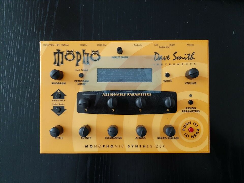 Synthesizer, Dave Smith Mopho