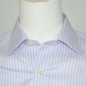 BROOKS-BROTHERS-Regent-Slim-Fit-Non-Iron-Supima-Cotton-Dress-Shirt-Sz-15-5-33