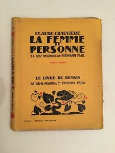 Claude Cámaras La Mujer De Xxxv Artheme Fayard & Cie Editores
