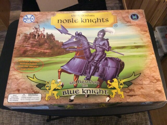 No Box Marx Reissue Blue knight with Accessories