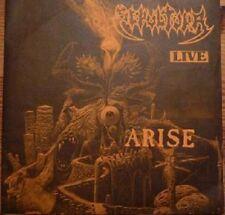 "SEPULTURA - ARISE LIVE EP 7"" VINYL - LIMITED 333 COPIES - DIFFERENT COVER COLORS"