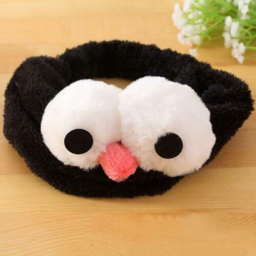 Women Headband Cute Turban Big Eyes Gargle Bath Washing Elastic Soft Hairbands
