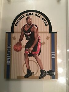 2003-04-Upper-Deck-SE-DIE-CUT-RC-FUTURE-ALL-STAR-BLACK-13-25-Dwyane-Wade