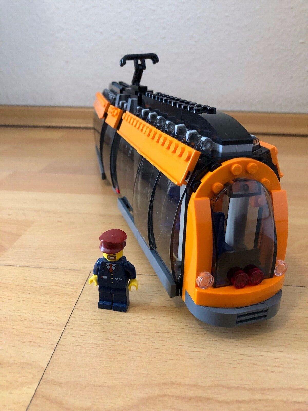 Lego 60097 Straßenbahn Tram Train City