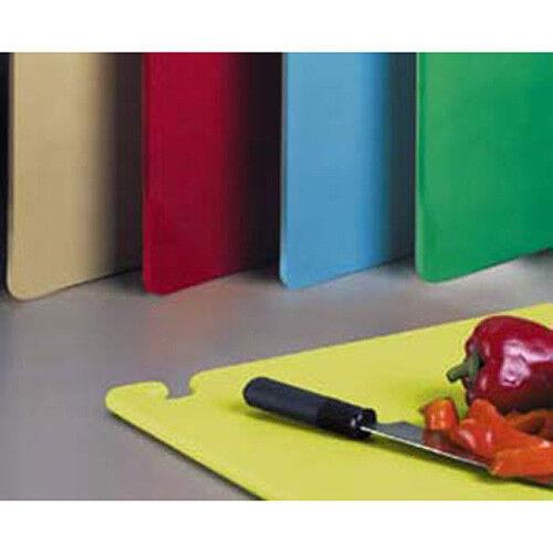 "Yellow Colored 12/""Wx18/""D San Jamar CB121812YL Restaurant Cutting Board"