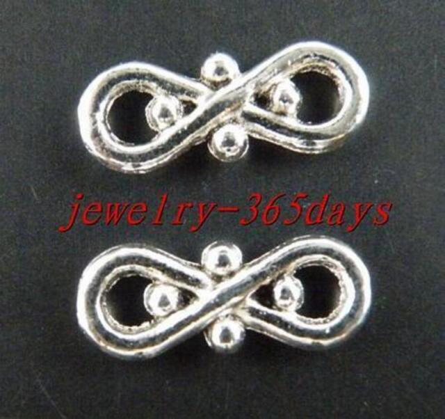 70pcs Tibetan Silver Tie Shaped Connectors 17.5x7x2.5mm