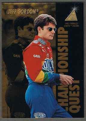SimpáTico 1995 Pinnacle Zenith Racing #81- Jeff Gordon Championship Quest