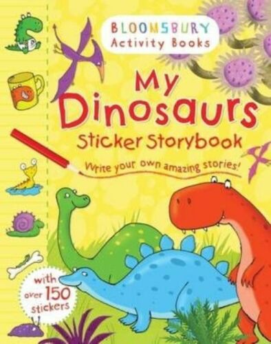 1 of 1 - My Dinosaurs Sticker Storybook (Bloomsbury Activity Books), 1408847299, New Book