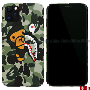 A-Bathing-Ape-Bape-Milo-Camo-Shark-Cover-Case-For-iPhone-11-Pro-Max-XS-XR-8-SE